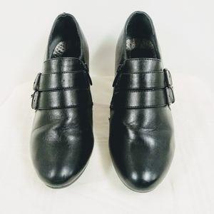 Pierre Dumas Flexibles Black Ankle Boots Sz 7